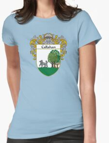 Callahan Coat of Arms/Family Crest Womens Fitted T-Shirt