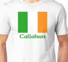 Callahan Irish Flag Unisex T-Shirt
