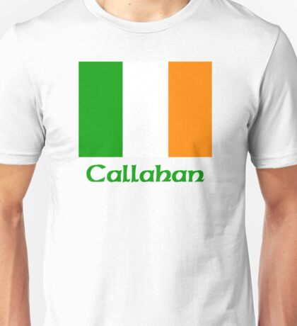 Callahan Irish Flag Unisex T-Shirt