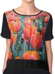 Tulips For Days Women's Chiffon Top
