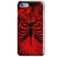 Free from inside-Black & red iPhone Case/Skin
