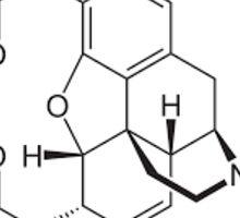 Heroin Molecule Sticker