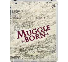 Muggle Born iPad Case/Skin