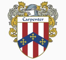 Carpenter Coat of Arms/Family Crest One Piece - Long Sleeve