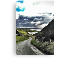 Beautiful Irish Afternoon in Donegal Canvas Print