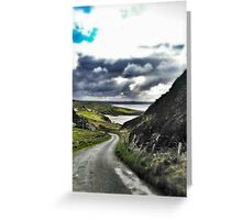 Beautiful Irish Afternoon in Donegal Greeting Card