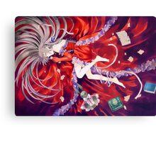 Alice in red (Pandora Hearts) Canvas Print