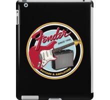 FENDER GUITARS & AMPLIFIERS iPad Case/Skin