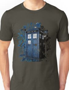 Blue Box Dispersion Unisex T-Shirt