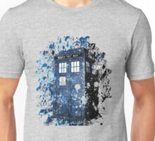 Blue Box Dispersion Unisex T-Shirt