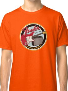 FENDER GUITARS & AMPLIFIERS Classic T-Shirt