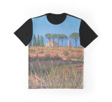 A view of Tuscany Graphic T-Shirt