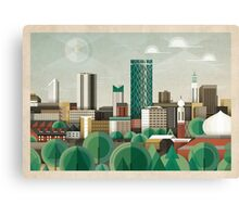 This Green City Canvas Print