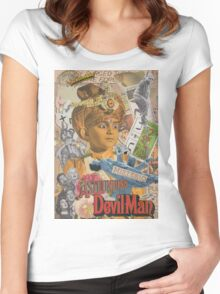 The Astounding Devilman Women's Fitted Scoop T-Shirt