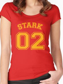 Stark 02 Women's Fitted Scoop T-Shirt