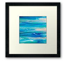On the Shores Framed Print