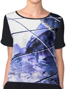 performing academy block new college Women's Chiffon Top