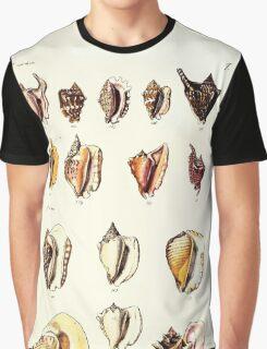 Thesaurus conchyliorum Monographs of genera of shells George Brettingham Sowerby 1887 V1-V5 010 Graphic T-Shirt