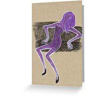 Envied Lady Greeting Card