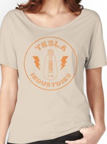 Tesla Industries Women's Relaxed Fit T-Shirt