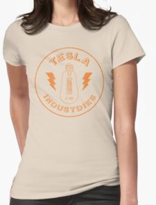 Tesla Industries Womens Fitted T-Shirt