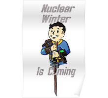 Fallout 4 | Game of Thrones - Nuclear Winter Poster