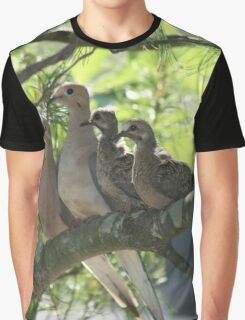 Dove Family Graphic T-Shirt