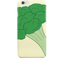 Vegan Victor - Broccoli 1. iPhone Case/Skin