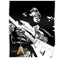 The King of the Blues Guitar Poster