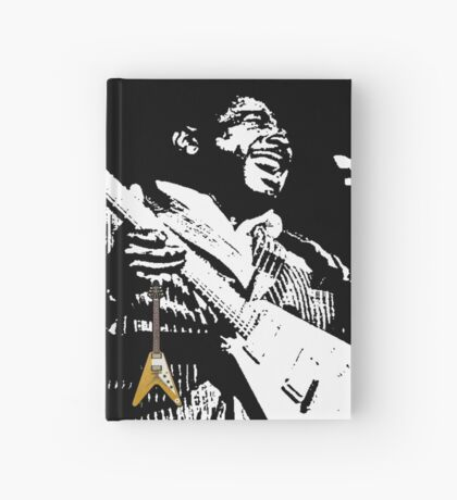 The King of the Blues Guitar Hardcover Journal