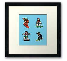 T&C Surf Design NES Framed Print