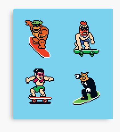 T&C Surf Design NES Canvas Print
