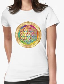 The Flower of Life - light Womens Fitted T-Shirt