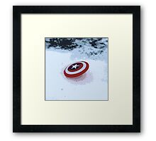 WINTER WON'T KNOW WHAT HIT IT Framed Print