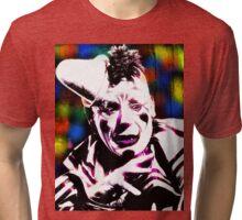 Laugh, Clown, Laugh (Colour) Tri-blend T-Shirt