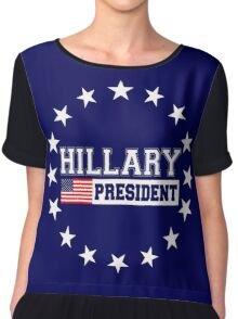 Hillary Clinton for President 2016 Chiffon Top