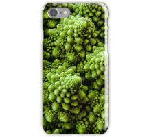 Vegan Victor - Broccoli Fractals 1. iPhone Case/Skin