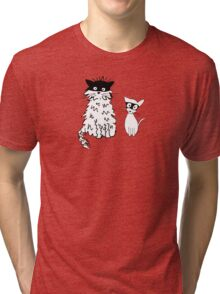 Cat superheroes Tri-blend T-Shirt