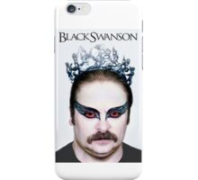 Black Swanson iPhone Case/Skin