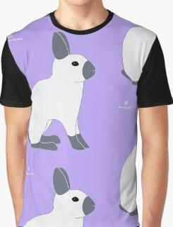 Blue Sable Point Rabbit Graphic T-Shirt