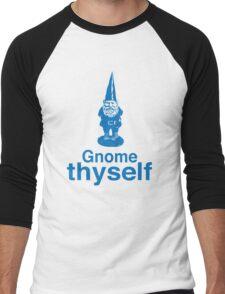 Gnome Thyself Men's Baseball ¾ T-Shirt
