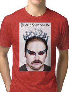 Black Swanson Tri-blend T-Shirt