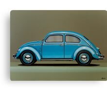 Volkswagen Beetle Painting Canvas Print