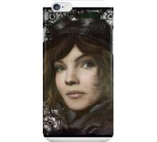 Cat Woman in training  iPhone Case/Skin