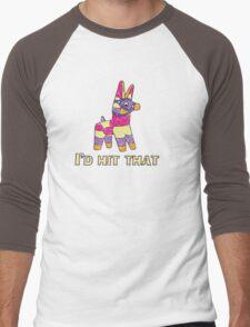 I'd Hit That Pinata Men's Baseball ¾ T-Shirt