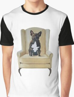 Jimmy French bulldog with attitude Graphic T-Shirt