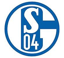 Schalke 04 Badge - Bundesliga Photographic Print