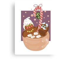 Gingerbread Love Canvas Print
