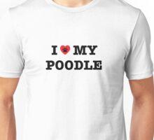 I Heart My Poodle Unisex T-Shirt