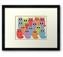 CAT 16 Framed Print